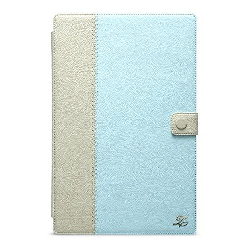 【送料無料】 ZENUS docomo Xperia Tablet Z SO-03E レザーケース Masstige E-note Diary スカイブルー Z1893XTS / 在庫あり【スマホ・タブレットのアクセサリー専門店 タブレットカバー ケース フューチャモバイル】おしゃれ