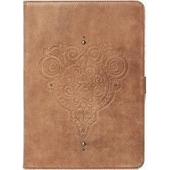 iPad Air 本革 レザー ケース zenus Prestige Retro Vintage Diary ビンテージブラウン Z2853iPA/在庫あり/ 送料無料 アイパッドエアー カバー ジャケット【スマホ・タブレットのアクセサリー専門店 タブレットカバー ケース フューチャモバイル】