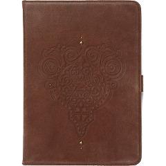 iPad Air 本革 レザー ケース zenus Prestige Retro Vintage Diary ダークブラウン Z2854iPA/在庫あり/ 送料無料 アイパッドエアー カバー ジャケット【スマホ・タブレットのアクセサリー専門店 タブレットカバー ケース フューチャモバイル】おしゃれ