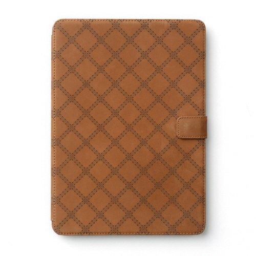 【送料無料】iPad Air2 ケース zenus Vintage Quilt Diary ブラウン Z5259iPA2 /在庫あり/アイパッド・エアー・カバー・ジャケット ipad air2おしゃれ