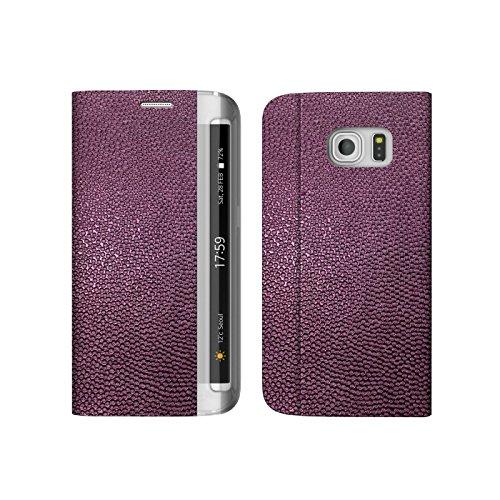 【送料無料】 Galaxy S6 Edge SC-04G / SCV31 ケース zenus Platinum Diary ワイン 手帳型 Z6038GS6E/在庫あり/ギャラクシー エスシックス エッジ スマホケース