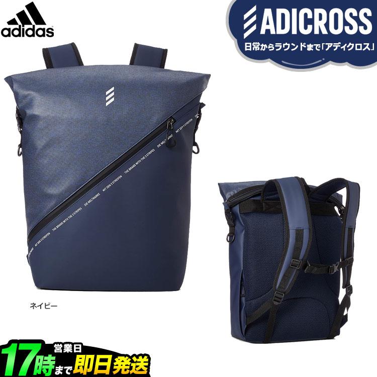 2019年モデル アディダス ゴルフ HFF77 ADICROSS ヘザー バックパック (メンズ)