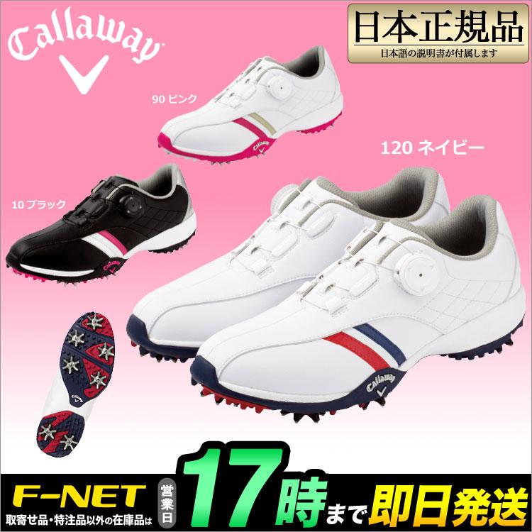 キャロウェイ ゴルフ Callaway GOLF 7983801 Callaway Urban LS AM ダイヤル式レーシングシステム ゴルフシューズ (レディース)