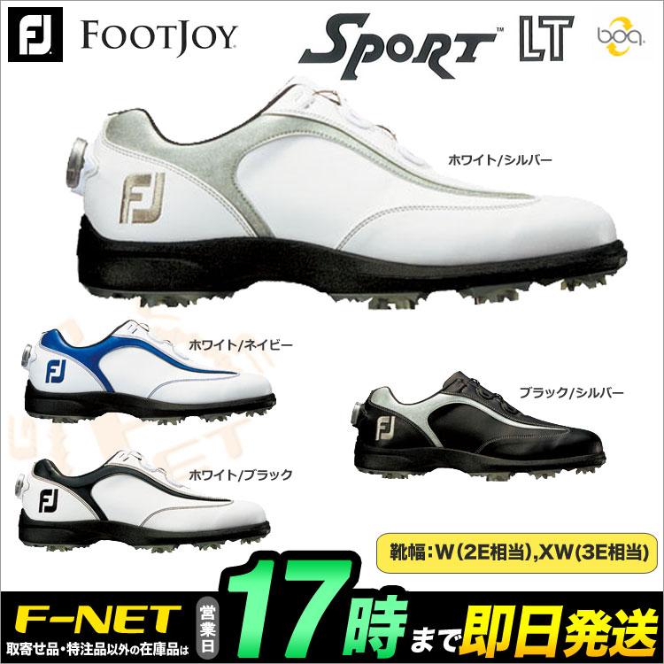 日本正規品フットジョイ ゴルフシューズ FJ SPORT LT Boa スポーツLT ボア 2017(ウィズ:W) 【ゴルフグッズ用品】