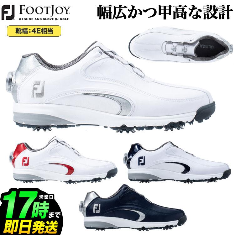 日本正規品 FOOTJOY フットジョイ ゴルフシューズ FJ ウルトラフィット XW Boa ボア (4E相当)