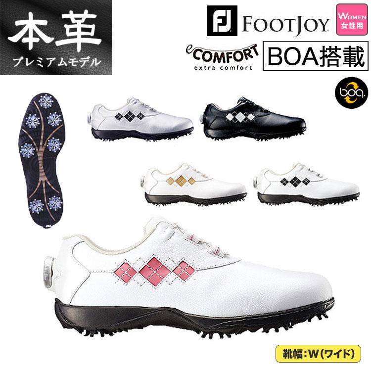 日本正規品FootJoy フットジョイ ゴルフシューズ 16 eCOMFORT Boa イーコンフォート ボア(レディース) 【ゴルフグッズ用品】