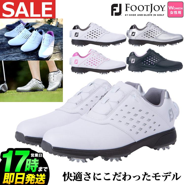 FootJoy フットジョイ ゴルフ靴 女性用 ウィズ:W ◆セール特価品◆ ソフトスパイク 日本正規品 商品追加値下げ在庫復活 2021年モデル Foot Joy ニュー イーコンフォート 21 Golf eCOMFORT ボア ゴルフシューズ BOA レディース