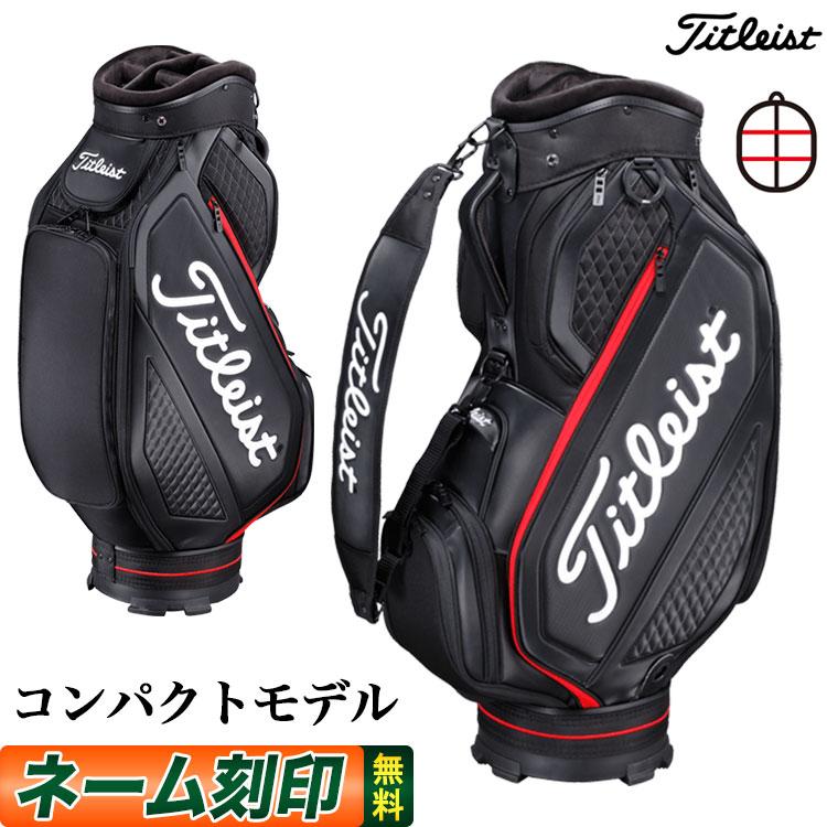 【日本正規品】Titleist タイトリスト ゴルフ 2020年モデル TB20SF4 ジェットブラック ミッドサイズ キャディバッグ キャディーバッグ