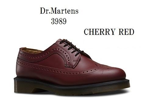3989 BROUGUE ウイングチップ 13844001 13844600 [Dr.Martens]ドクターマーチン 正規代理店商品 メンズ レディス 父の日にもお勧め!!