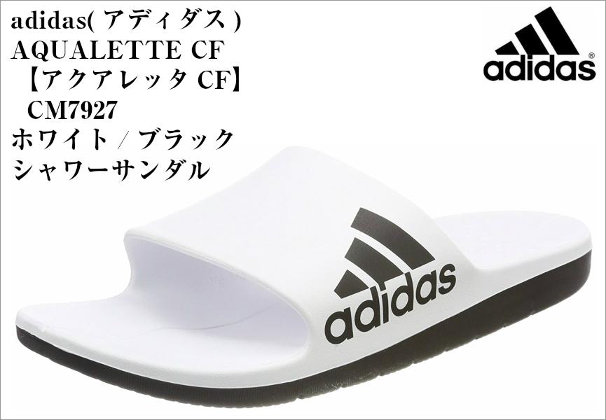 462979fb5 adidas (Adidas) CM7927 CM7928 CM7929 AQUALETTE CF shower sandals men Lady s