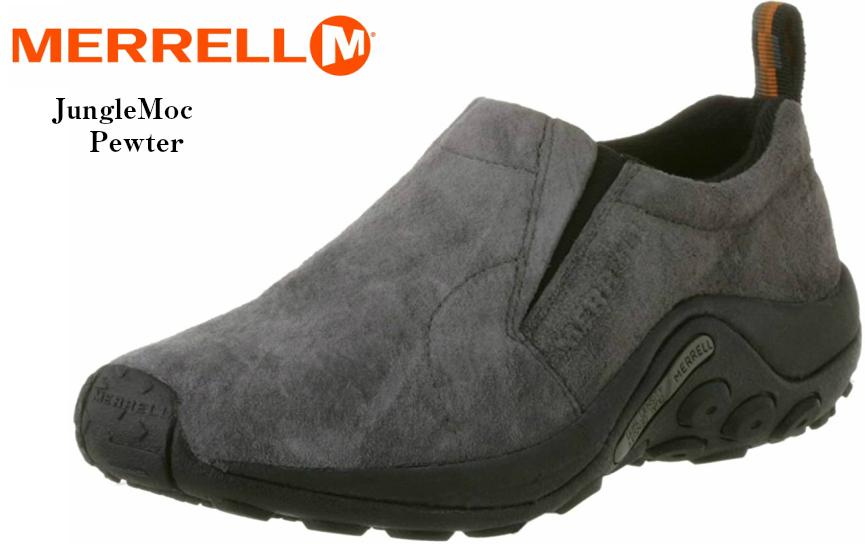 JUNGLE MOC MERRELL(メレル) ジャングルモック スリッポンカジュアルモックシューズ 60802 60788 60806 60826 レディス スッと履けるフィット感が心地よく、長時間歩くときも疲れを軽減 定番モデル