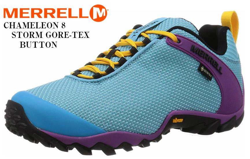 MERRELL (メレル)カメレオン8ストームゴアテックス CHAMELEON 8 STORM GORE-TEX メンズ アウトドアトレッキングカジュアルシューズ 尖った岩などの障害物から足を保護するとともに、靴のねじれの抑制と安定性を向上