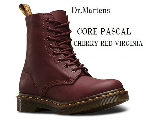 [Dr.Martens] CORE PASCAL 8EYE BOOTS 8ホール ブーツ ドクターマーチン 13512006 13512410 13512411 正規代理店商品 レディス