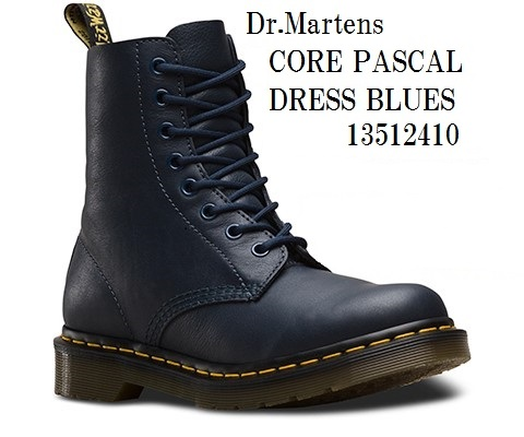 ドクターマーチン 13512006 13512410 13512411 [Dr.Martens] CORE PASCAL 8EYE BOOTS 8ホール ブーツ 正規代理店商品 レディス