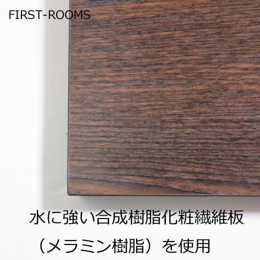 カウンターテーブル・ハイテーブル 幅52×奥行52×高さ102cm ダークブラウン【カフェルック】