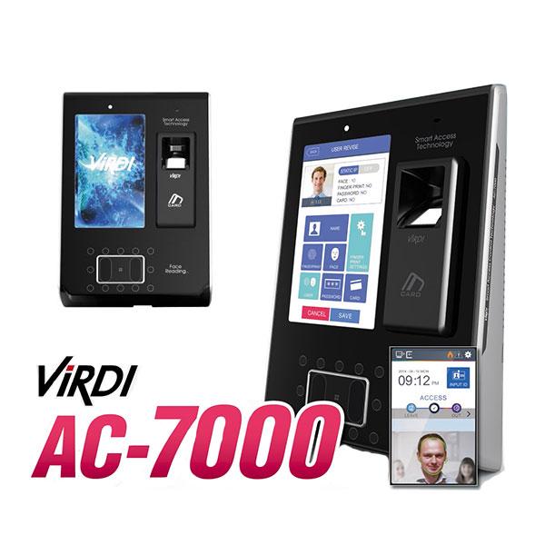 ■ 顔認証 毎日激安特売で 営業中です ViRDI 顔 指紋認証 日本全国 送料無料 AC-7000