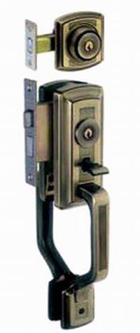 立山アルミ玄関錠サムラッチ錠AD-100