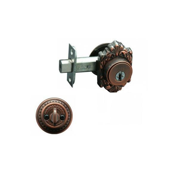 古代(KODAI) ミラノ本締錠GT-M 22051GB対応扉厚30~40mm バックセット60mm対応 付属鍵5本