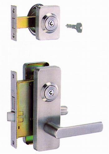 美和ロック(MIWA)玄関錠M-44トステム扉対応