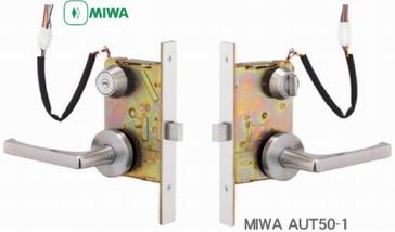 MIWA(美和ロック)AUシリーズ【MIWA AUT】【MIWA AUR】【MIWA AUTA】【MIWA AURA】MIWA AUT50-1型電気錠(通用口非常口用電気錠)*キーランクはU9MIWA AUT,AUR