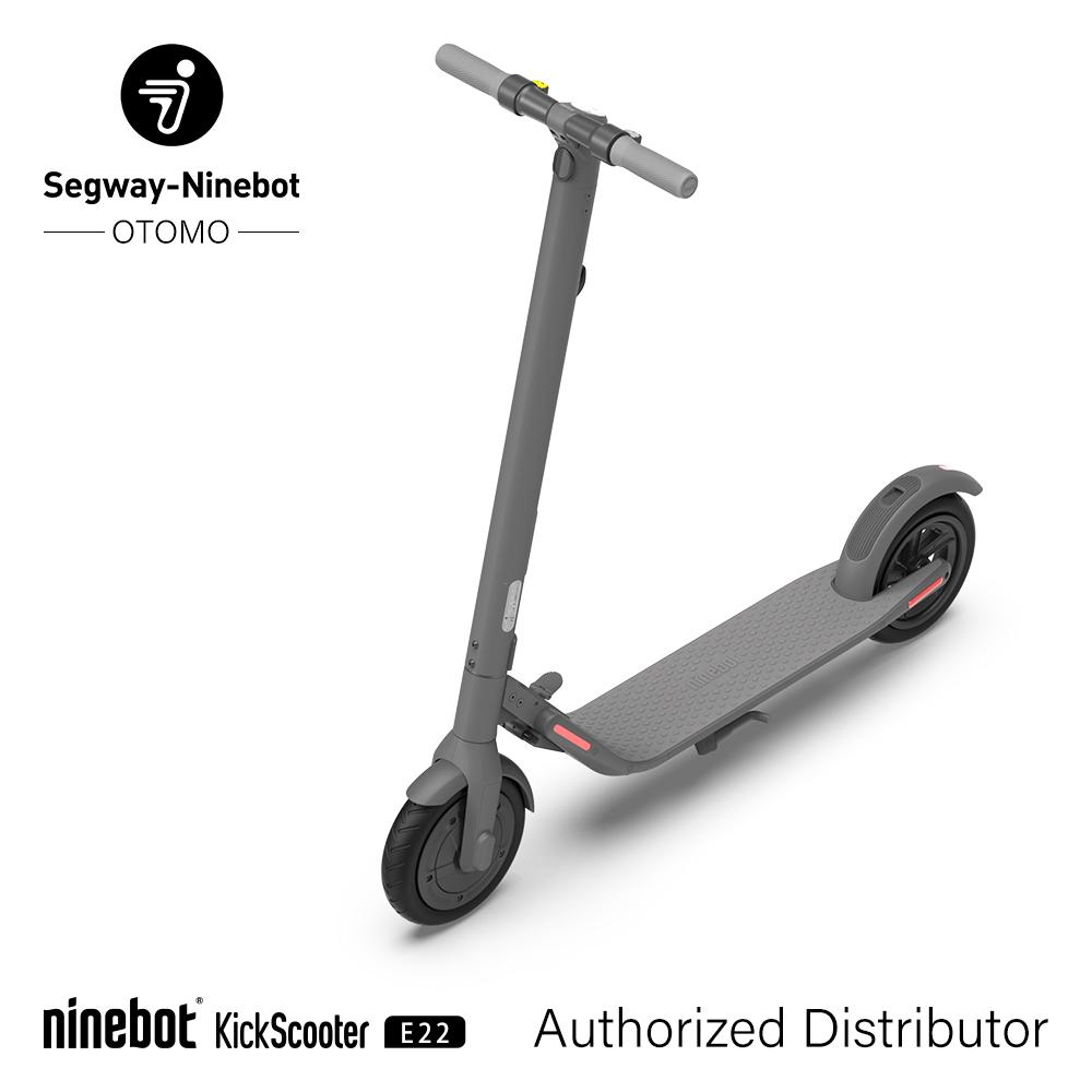 電動キックスクーター Segway Ninebot セグウェイ ナインボット キックボード 本体 次世代乗り物 近未来型モビリティ Ninebot Kickscooter E22