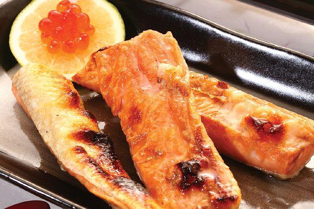 【ふるさと納税】紅鮭ハラス450g×3袋[6112868]