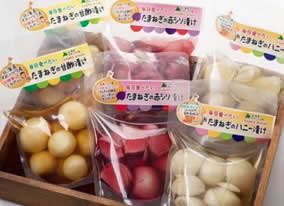 【ふるさと納税】有機栽培玉ねぎのお漬物詰め合わせセット, カー用品のピックアップショップ b94feada