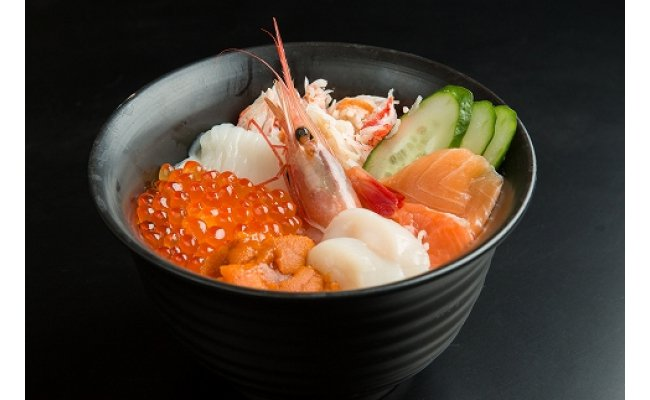 【ふるさと納税】網走番外地食堂人気の究極海鮮丼セット