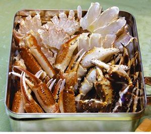 【ふるさと納税】美味蒸しタラバガニセット【約800g】缶入り