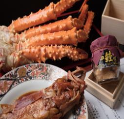 【ふるさと納税】オホーツク海プレミア美味三大セット[鮭児・きんき・イバラガニ]