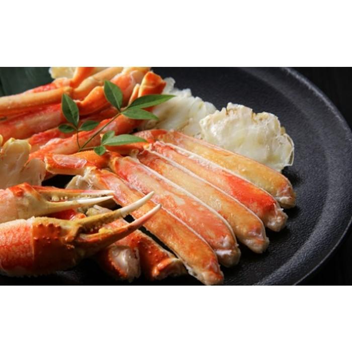 【ふるさと納税】20-82 紋別産ズワイガニ食べつくしセット