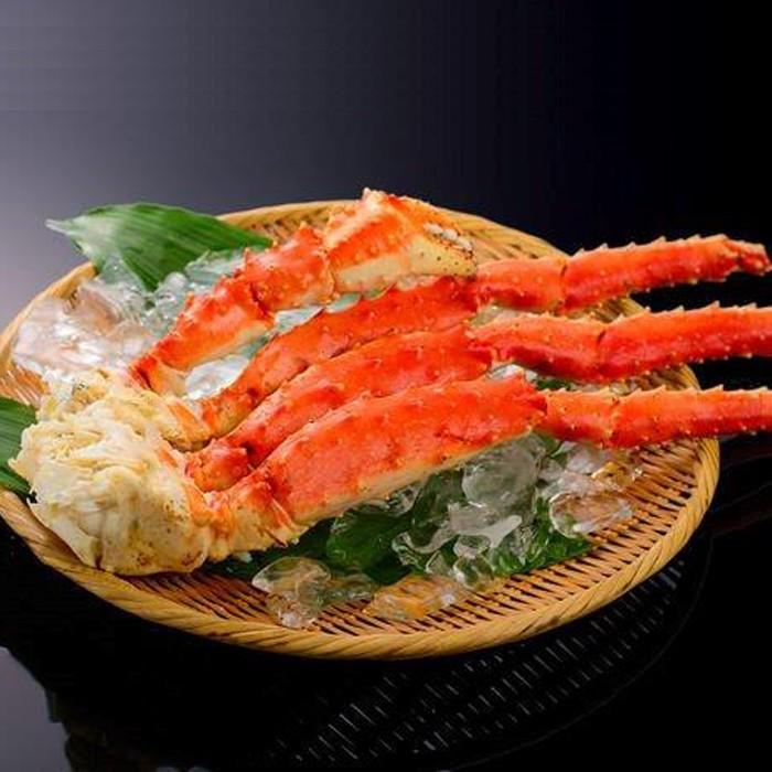 【ふるさと納税】65-4 ボイルタラバガニ片脚(5Lサイズ)3kg