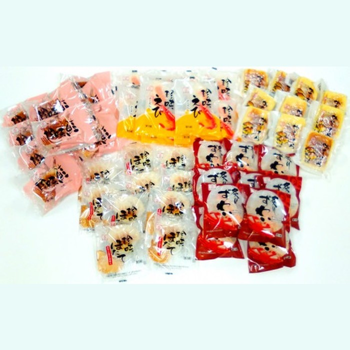 【ふるさと納税】92-1 珍味かまぼこ5種 50個セット
