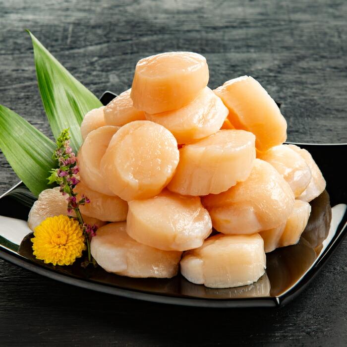 【ふるさと納税】100-22 お刺身用冷凍帆立貝柱(5kg)