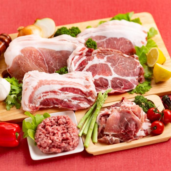 ふるさと納税 出荷 デポー 10-214 喜多牧場の豚肉バラエティーセット