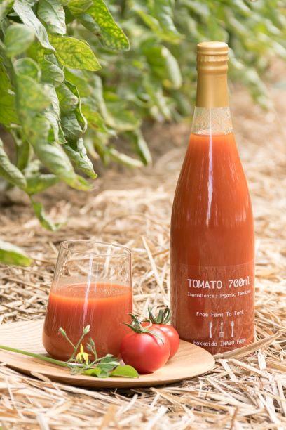 【ふるさと納税】E301 有機トマトジュース20本(無塩・無添加)700ml×20本