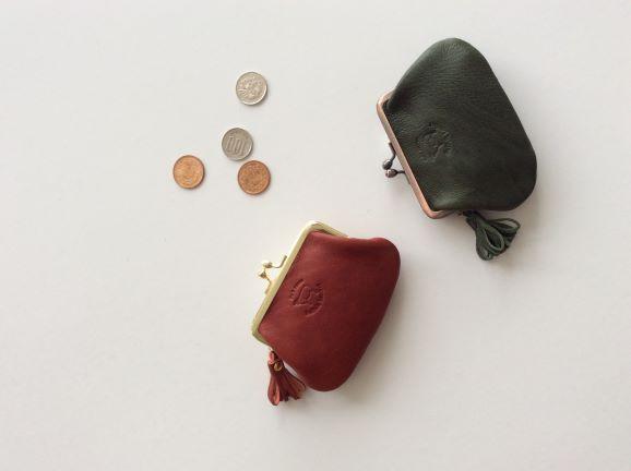【ふるさと納税】B502 Suffolk Leather(サフォークレザー)がま口小銭入れ 1点