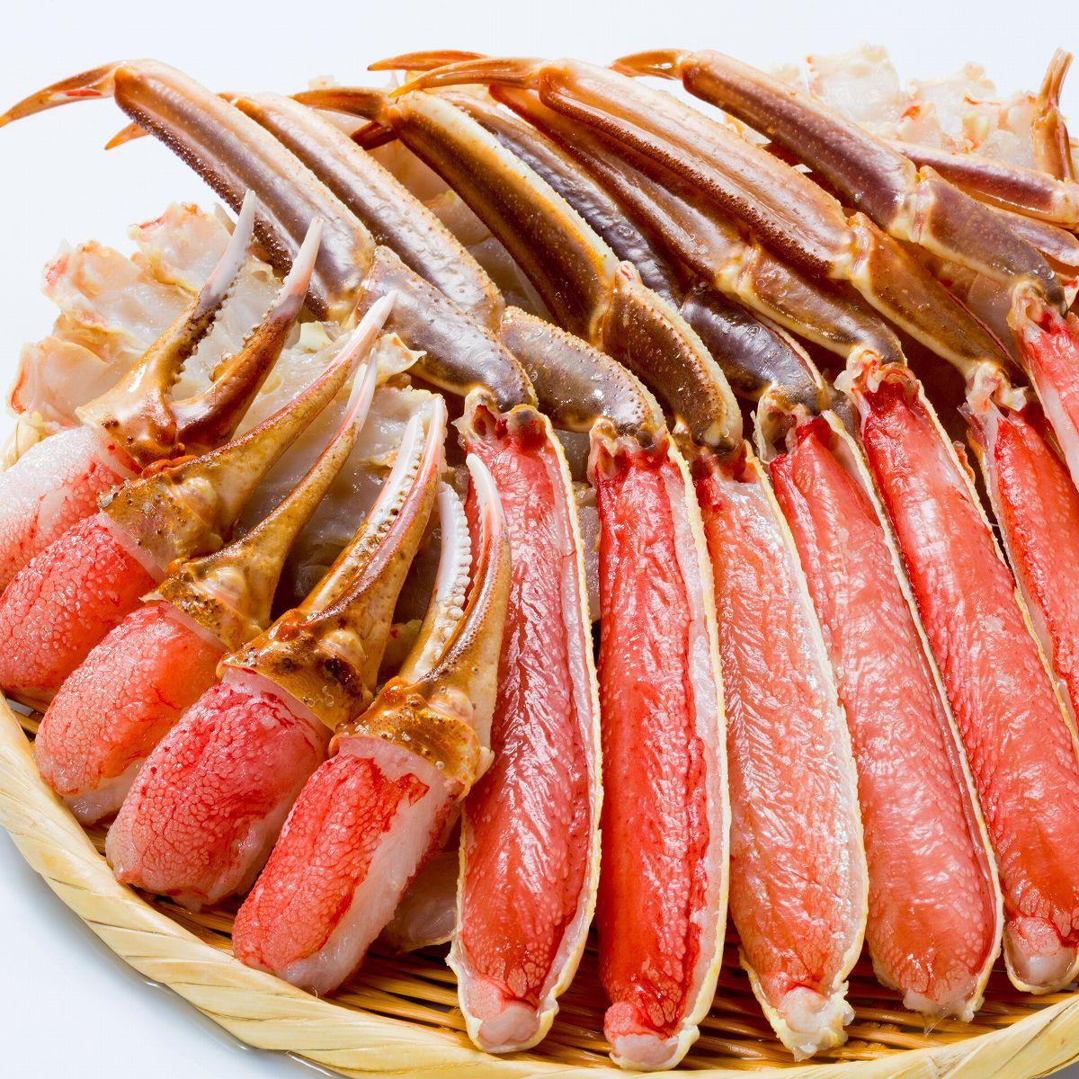 【ふるさと納税】[生食可]カット済み生ずわいがに1.5kg(750g×2P) B-38001