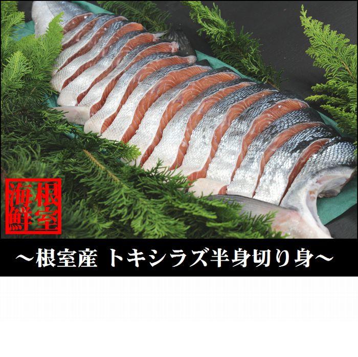【ふるさと納税】 [北海道根室産]時しらず鮭半身(切身)×1枚 B-57014