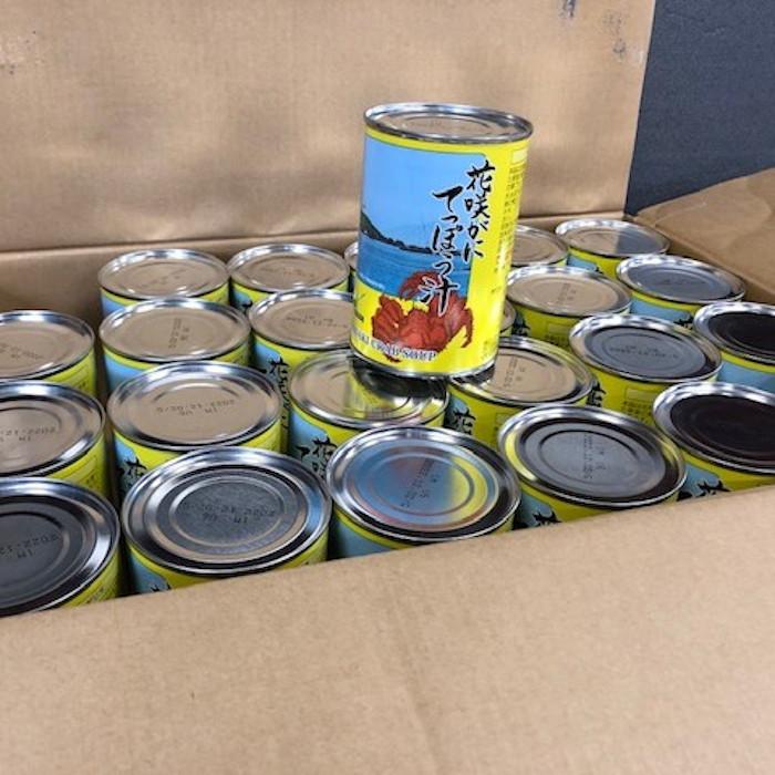 【ふるさと納税】花咲がにてっぽう汁缶24缶 D-78002