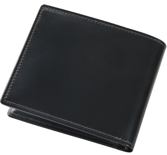 【ふるさと納税】[HV-02]SOMES HV-02 2つ折財布(ブラック)