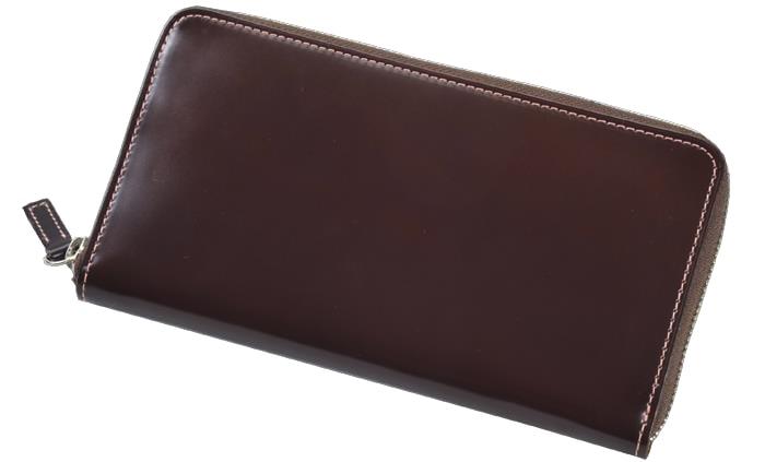 【ふるさと納税】[CNT-04] SOMES CNT-04ラウンド財布(ダークブラウン)
