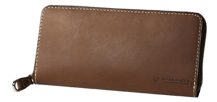 【ふるさと納税】[PA-11]SOMES PA-11 ラウンド財布(ダークブラウン)