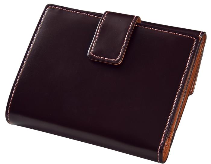【ふるさと納税】[CNT-02] SOMES CNT-02 2つ折財布(ダークブラウン)
