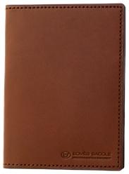 【ふるさと納税】[CS-01] SOMES CS-01 パスポートケース(ダークブラウン)