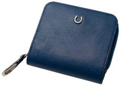 【ふるさと納税】[PT-25] SOMES PT-25 2つ折財布(ブルー)