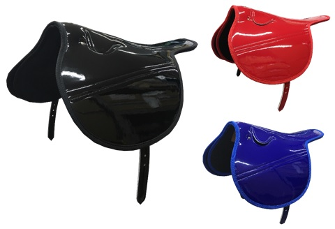 【ふるさと納税】SOMES レース鞍 USタイプ 2斤A(ブラック·ブルー·レッド) 革 革製品 鞍 レース鞍