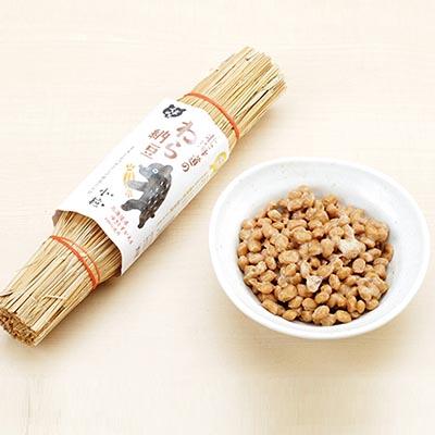 【ふるさと納税】北海道のわら納豆(小粒)6本 【納豆】