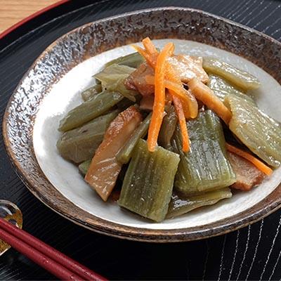【ふるさと納税】北海道フキと天ぷら煮 1kg×2袋 計2kg 【惣菜・野菜】