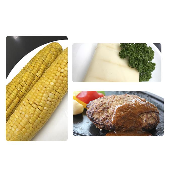 【ふるさと納税】トンバーグ&燻煙チーズ&冷凍茹でとうきびセットA 【お肉・乳製品・野菜・とうもろこし・セット】